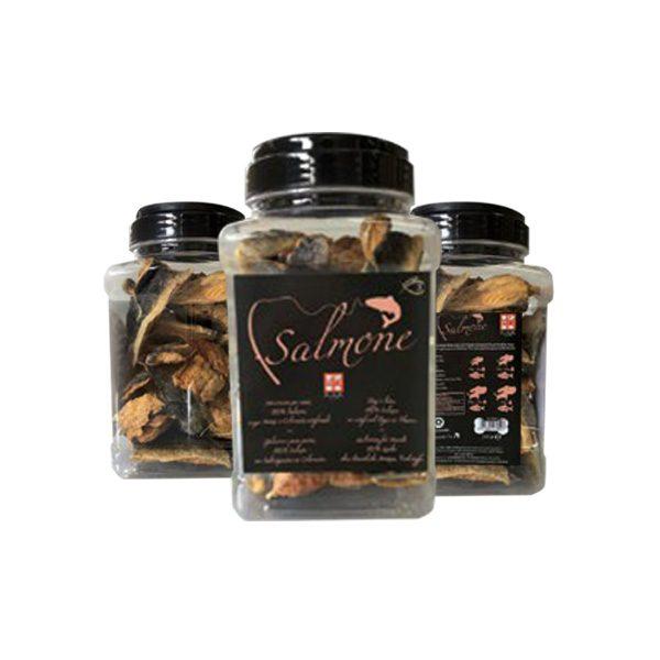 ferribiella bocconcini salmone mangiare snack cane