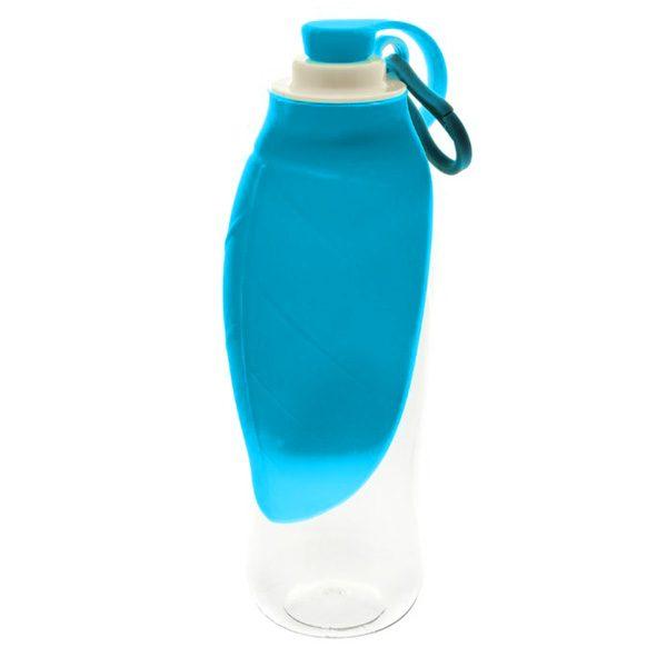 ferribiellabottiglia ciotola foglia blu universale 600ml cane a tuta zampa.it