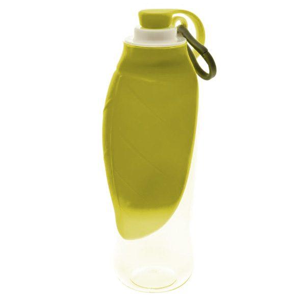 ferribiella bottiglia ciotola foglia gialla universale 600ml cane
