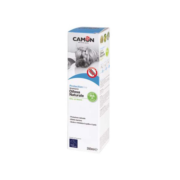 camon shampoo protection 200ml cane gatto