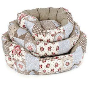 ferribiella cucce ovale cuore 40 50 60cm cane