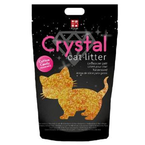 ferribiella lettiera crystal cotton candy 1,6kg gatto