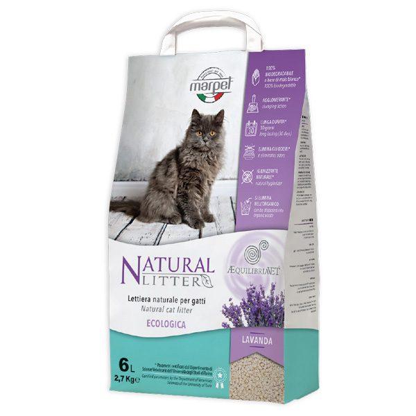 marpet lettiera natural litter lavanda gatto