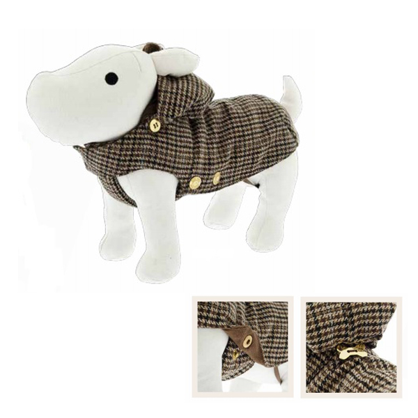 Tutta Cappotto London Cane Zampa 27cm A Trench Ferribiella it Lana 0qSFFd