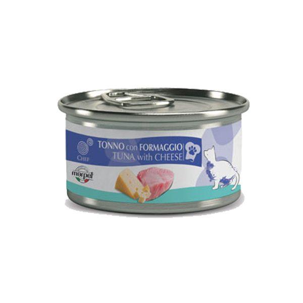 Marpet-Chef-gatto-umido-tonno-formaggio-80gr