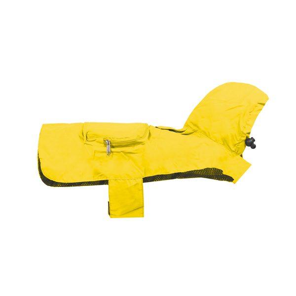Impermeabile pocket giallo Record