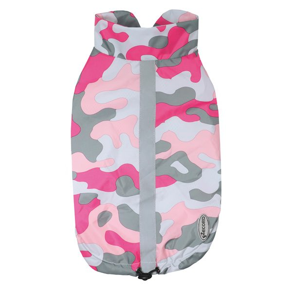 Impermeabile pollock camouflage rosa Record