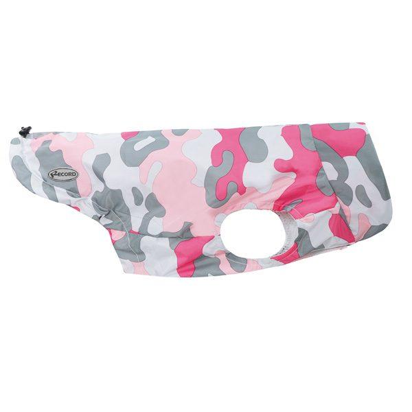 Impermeabile pollock camouflage rosa lato Record