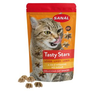 Snack gatto tasty star fegato Sanal