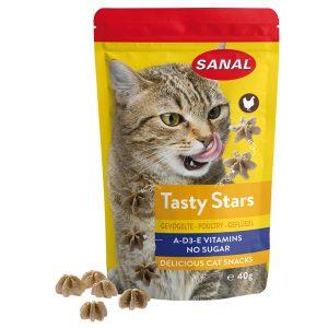 Snack tasty star pollame Sanal