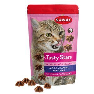 Snack gatto tasty star salmone Sanal